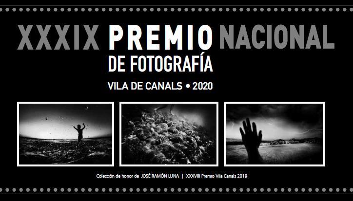 XXXIX PREMIO NACIONAL DE FOTOGRAFÍA VILA DE CANALS