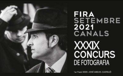 """Convocatoria del XXXIX Concurso de Fotografía """"Feria de Septiembre 2021"""" de Canals"""